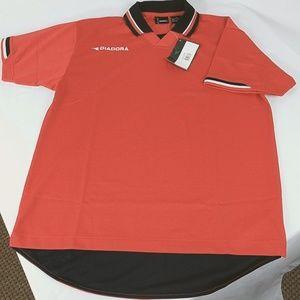 Diadora Athletic Jersey Short Sleeve  90's Style